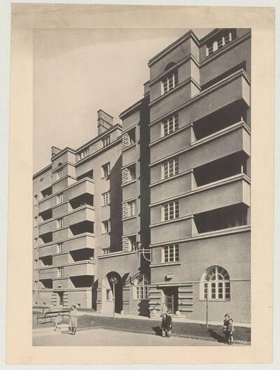 Wohnhauses der Gemeinde Wien