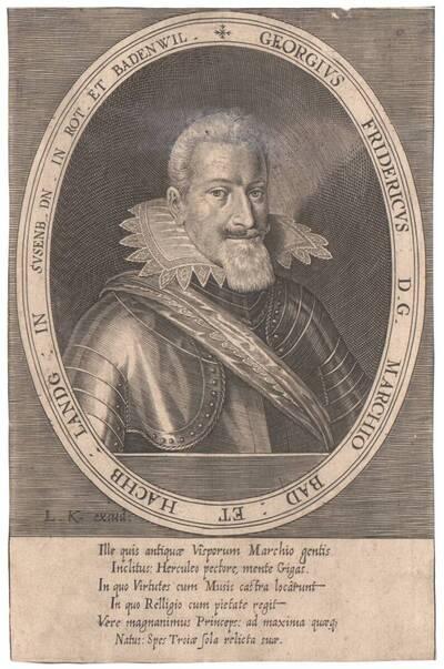 Portrait von Markraf Georg Friedrich (vom Bearbeiter vergebener Titel)