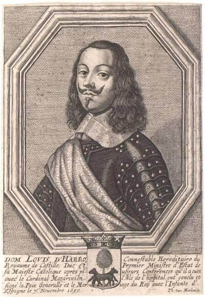 Portrait von Louis d' Harro (vom Bearbeiter vergebener Titel)