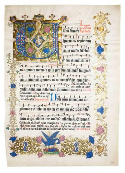 Blatt eines Missales (vom Bearbeiter vergebener Titel)