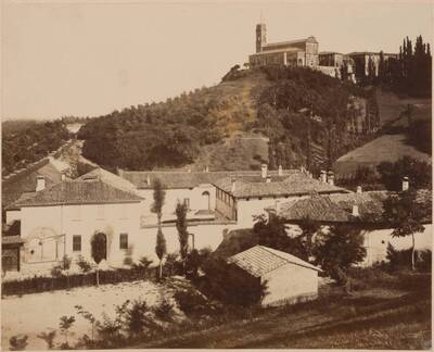 Fotografie des Klosters San Michele in Bosco, in Bologna (vom Bearbeiter vergebener Titel)