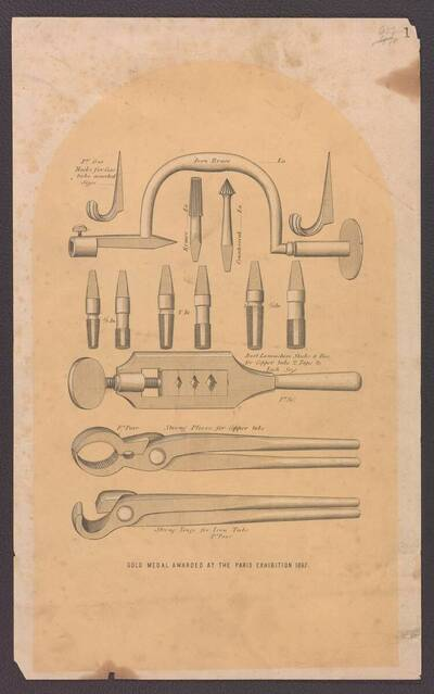 Werkzeuge und Fräsen für Gasleitungen