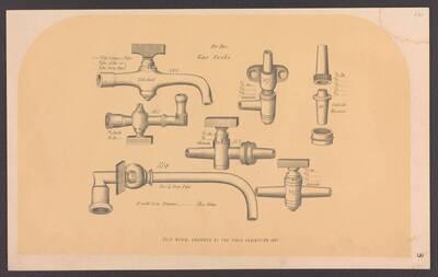 Hähne für Gasleitungen und -lampen