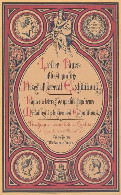 Etikette für Letter Paper of best quality (vom Bearbeiter vergebener Titel)