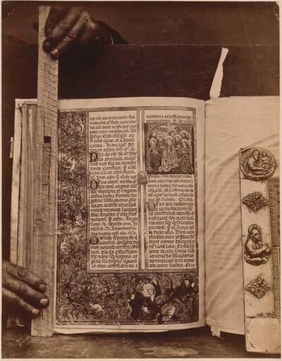 Fotografie einer Seite des Agramer Missales (vom Bearbeiter vergebener Titel)