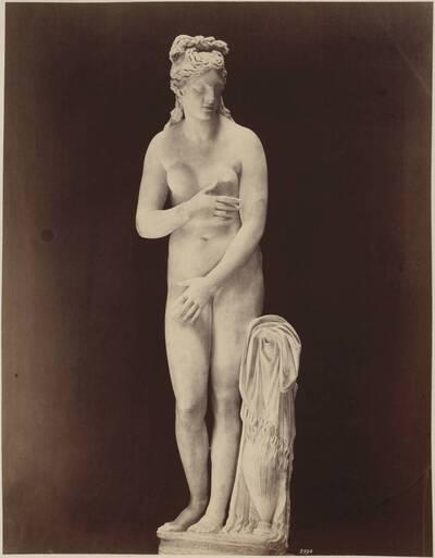 Fotografie der Skulptur der