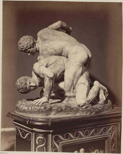 Fotografie der Skulpturengruppe
