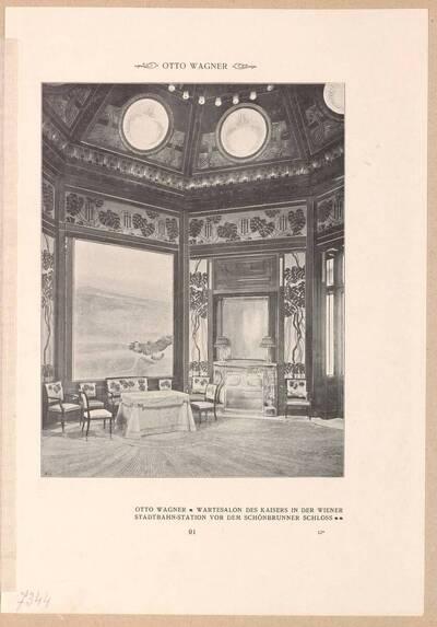 Seite aus der Zeitschrift Dekorative Kunst (vom Bearbeiter vergebener Titel)