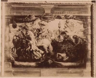 Fotografie des Gemäldes