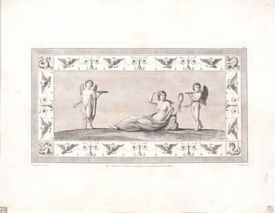 [Titusthermen. Liegende Venus] (vom Bearbeiter vergebener Titel)