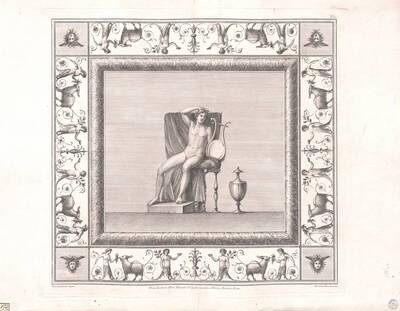 [Titusthermen. Apollo mit Lyra] (vom Bearbeiter vergebener Titel)