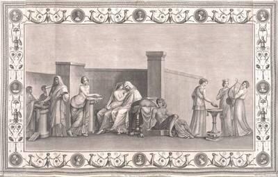 [Titusthermen. Aldobrandinische Hochzeit] (vom Bearbeiter vergebener Titel)