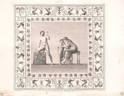 [Titusthermen. Nackter Mann, Frau und Kind] (vom Bearbeiter vergebener Titel)