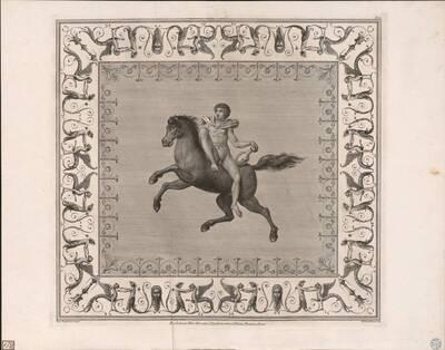 [Titusthermen. Mann zu Pferd] (vom Bearbeiter vergebener Titel)