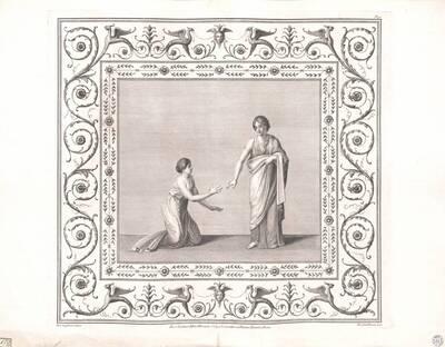 [Titusthermen. Zwei Frauen] (vom Bearbeiter vergebener Titel)
