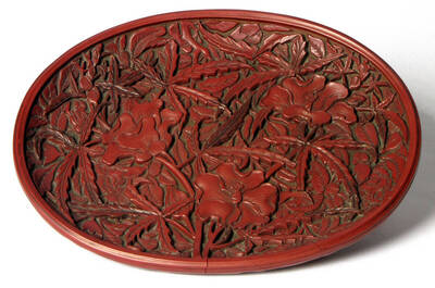 Weihrauchtablett mit Bodenmarke der Periode Wanli
