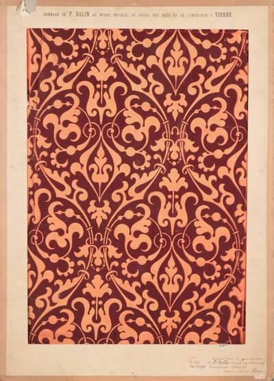 Stilkopie nach Motiven der Renaissance; Epoche Henri II. (vom Bearbeiter vergebener Titel)