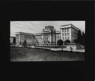 Vierter Projektentwurf für das Kaiser Franz Josef Stadtmuseum auf der Schmelz (vom Bearbeiter vergebener Titel)