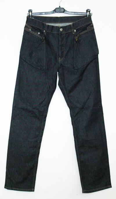 Jeanshose - blau (deskriptiver Titel)