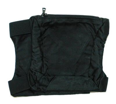Armtasche - schwarz (deskriptiver Titel)