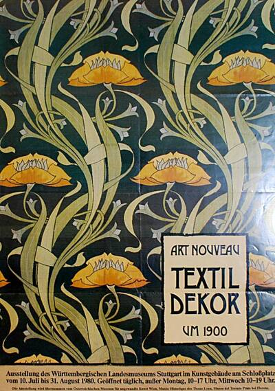 Art Nouveau Textil Decor um 1900 (Kurztitel)
