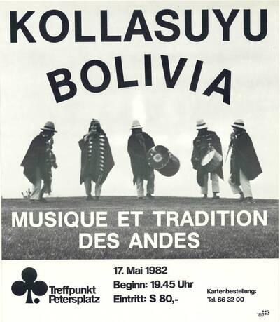 Kollasuyu Bolivia (Kurztitel)