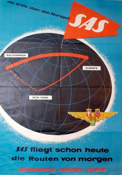 als erste über den Nordpol SAS (Kurztitel)
