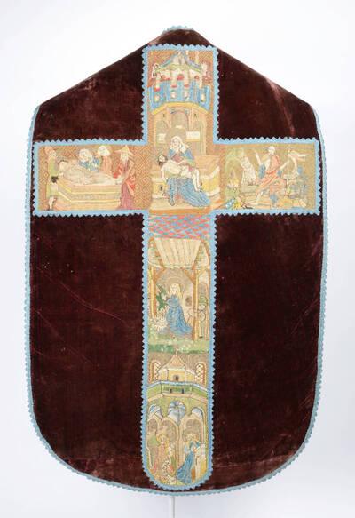 Kaselkreuz mit Szenen aus dem Leben Christi