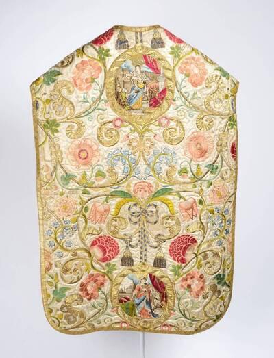 Vorderseite Darstellung der Allegorie des Glaubens, Rückseite Hl. Elisabeth und Hl. Helena