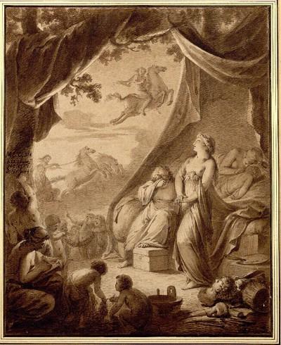Allegorie auf die Renaissance der Künste unter der Herrschaft Friedrichs von Sachsen