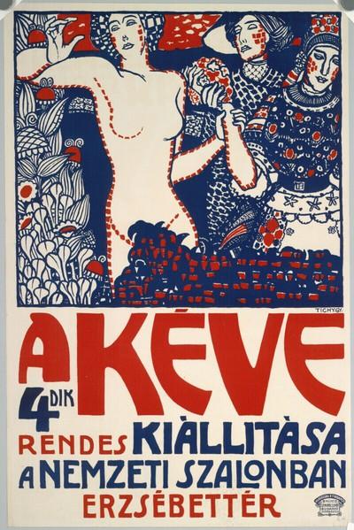 A KÉVE 4ik rendes kiállítása a Nemzeti Szalonban Erzsébet tér