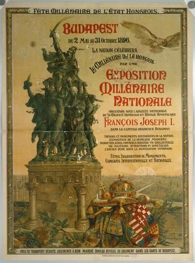 EXPOSITION MILLÉNAIRE NATIONALE, BUDAPEST, 1896