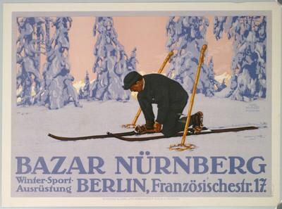 BAZAR NÜRNBERG; Winter-Sport-Ausrüstung; BERLIN