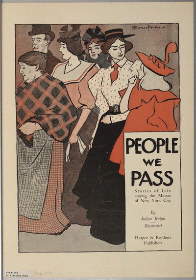 PEOPLE WE PASS; By Julian Ralph / Illustrated; Harper & Brothers Publishers