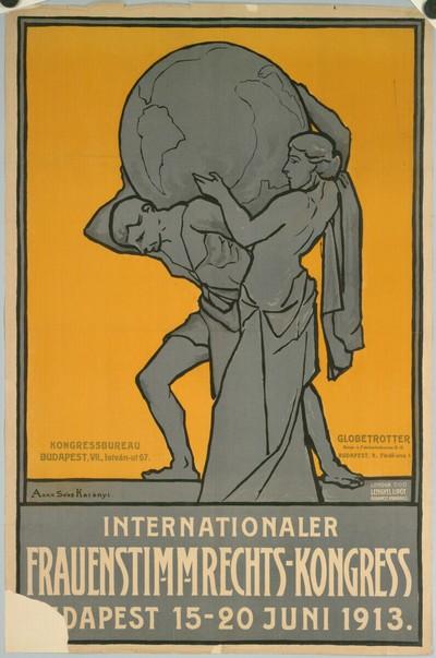 Internationaler Frauenstimmrechts-Kongress, Budapest 15-20 Juni 1913