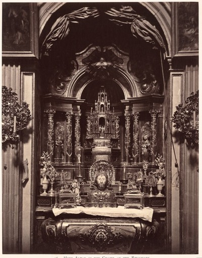 Santiago de Compostela: High Altar in the Chapel of the Reliquary