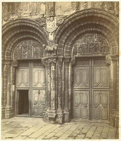 Santiago de Compostela: Double Doorway of the South Transept