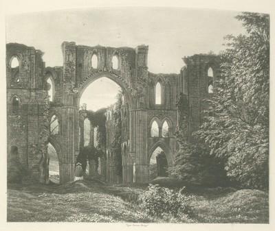 Rivaulx Abbey - The Choir and Transept
