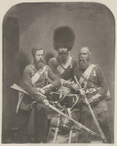 Crimean Braves - Men of the Trenches and Battle fields in the Crimea. Coldstream Guards - Privates.