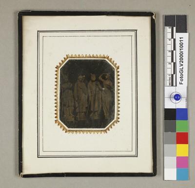 Vier Figuren von Hans Gasser zum Hentzi-Denkmal in Budapest (1851)