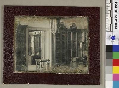 Innenansicht des Chemielabors im alten Polytechnikum in Wien
