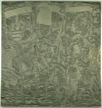 Triumphzug Kaiser Maximilians I.: Banner von Steier, Alt-Österreich und Österreich