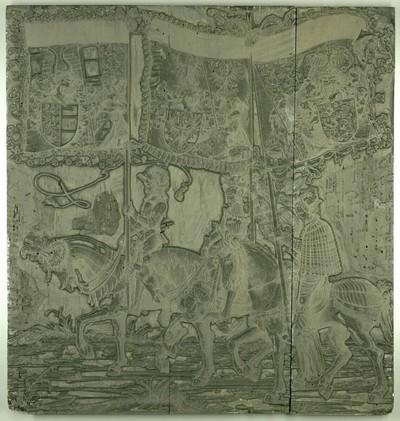 Triumphzug Kaiser Maximilians I.: Banner von Schwaben, Krain und Kärnten