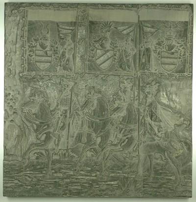 Triumphzug Kaiser Maximilians I.: Banner von Bethune, Franeker und Dendremonde