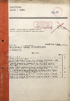 Ludność i sługi bytowe dla ludności w 1976 r.