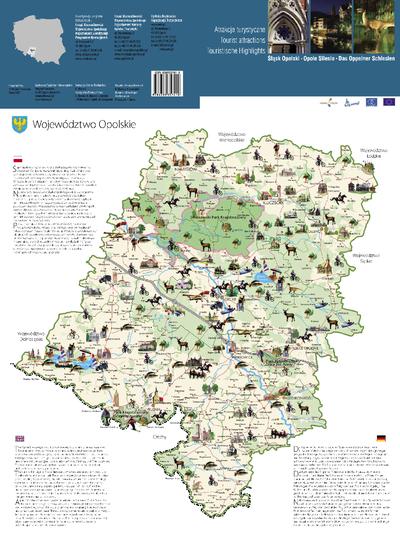 Śląsk Opolski : atrakcje turystyczne.