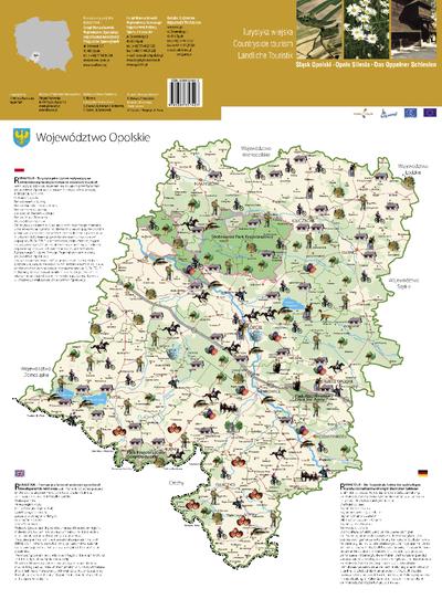 Śląsk Opolski : turystyka wiejska.