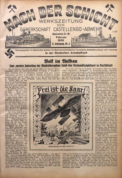 Nach der Schicht, 1935, Jg. 5, Nr. 2
