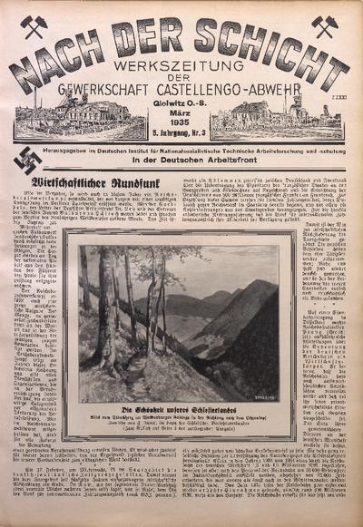 Nach der Schicht, 1935, Jg. 5, Nr. 3