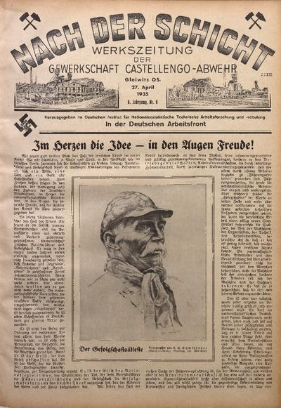 Nach der Schicht, 1935, Jg. 5, Nr. 6